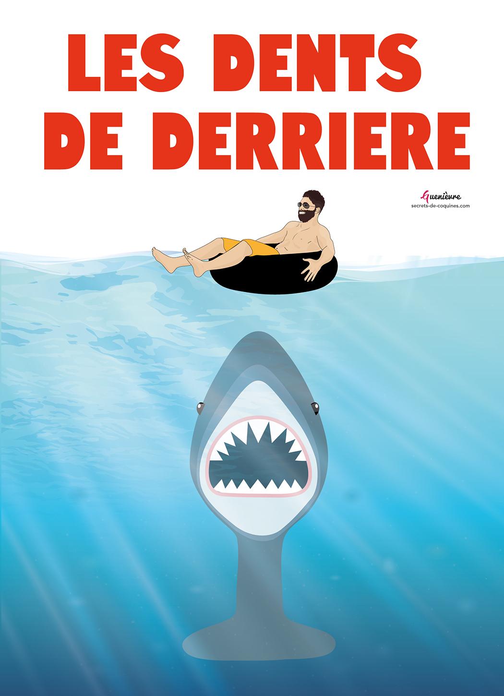Illustration Les Dents De La Mer