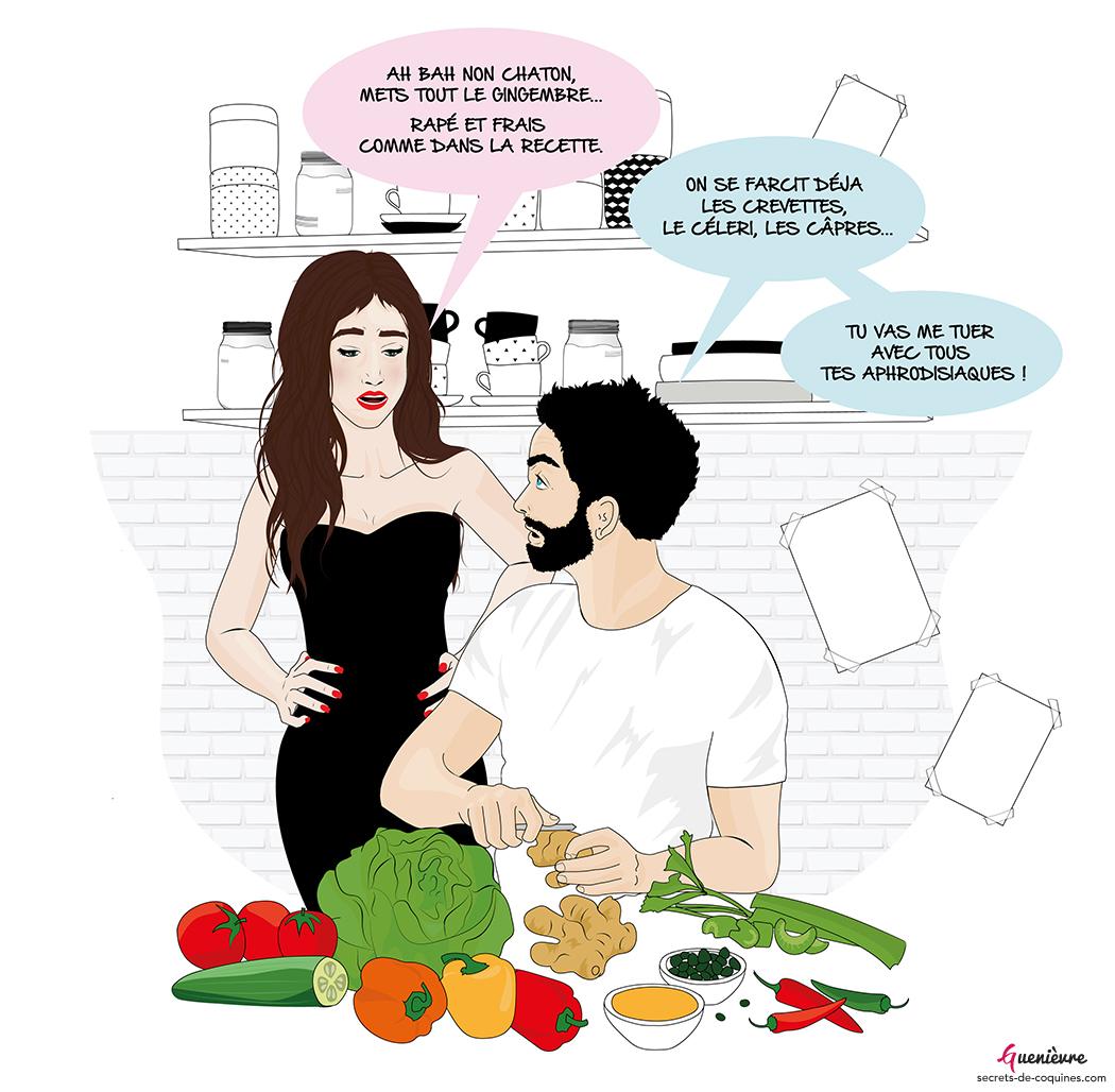 Illustration Piment Rose Atelier Cuisine Amoureuse