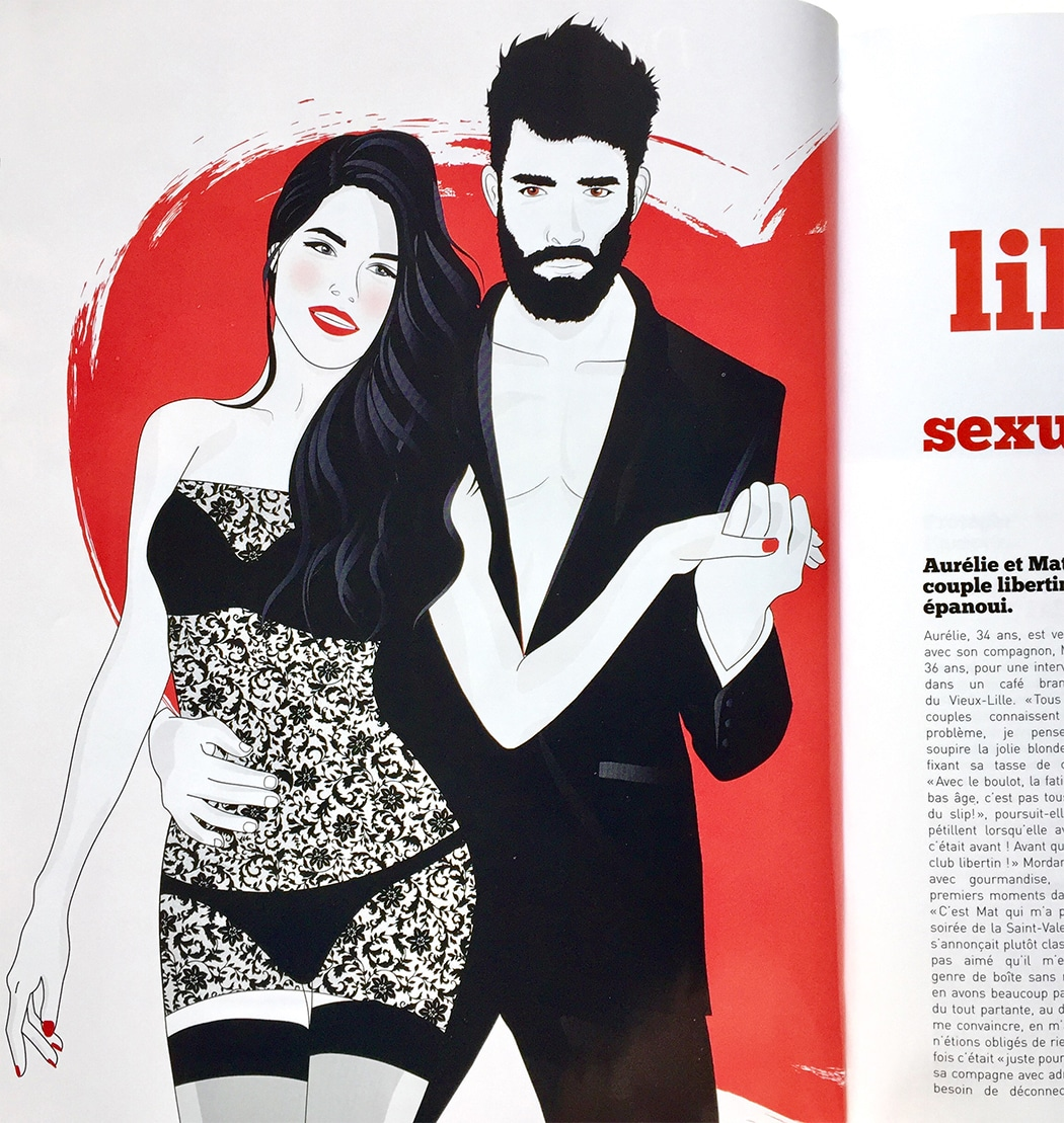 Illustration Wyylde Le Mag Mars-Avril Presse