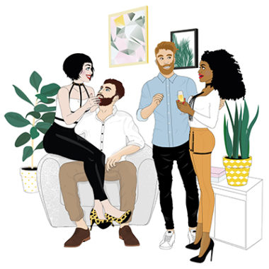 Bijoux Indiscrets Illustrations Collaboration