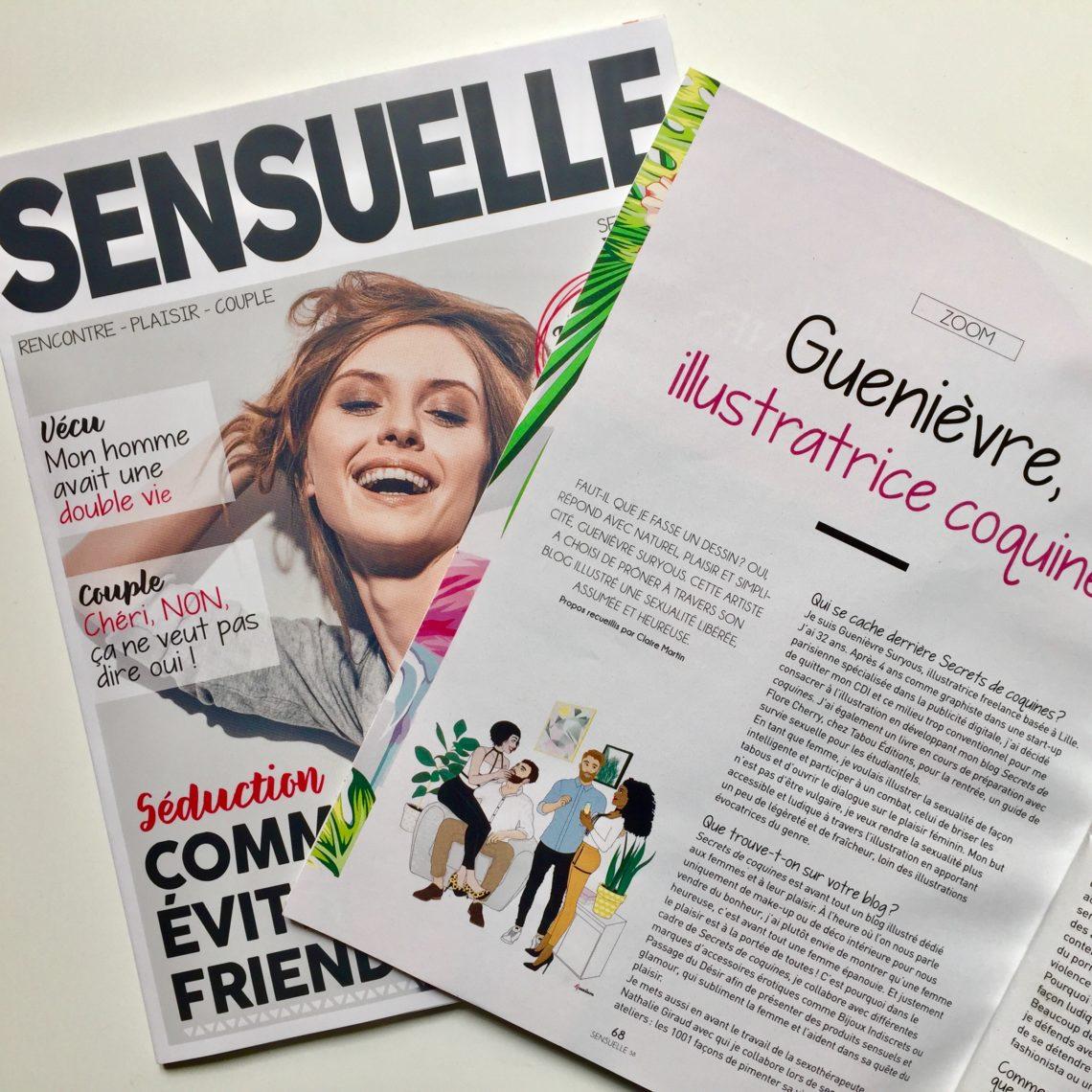 Sensuelle Magazine - Septembre et octobre